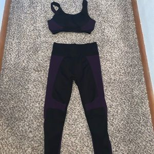 Fabletics Sports Bra and Leggings Set